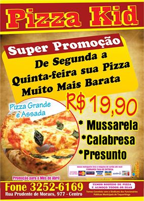 Pizza Kid Seg a Quinta