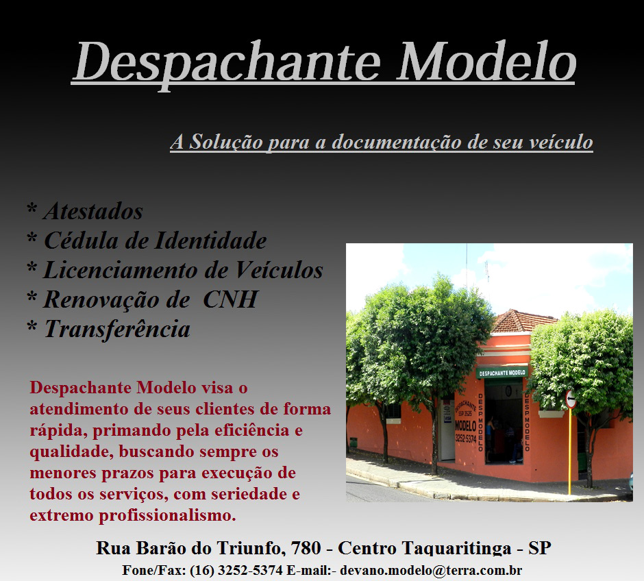 despachante modelo ok 2