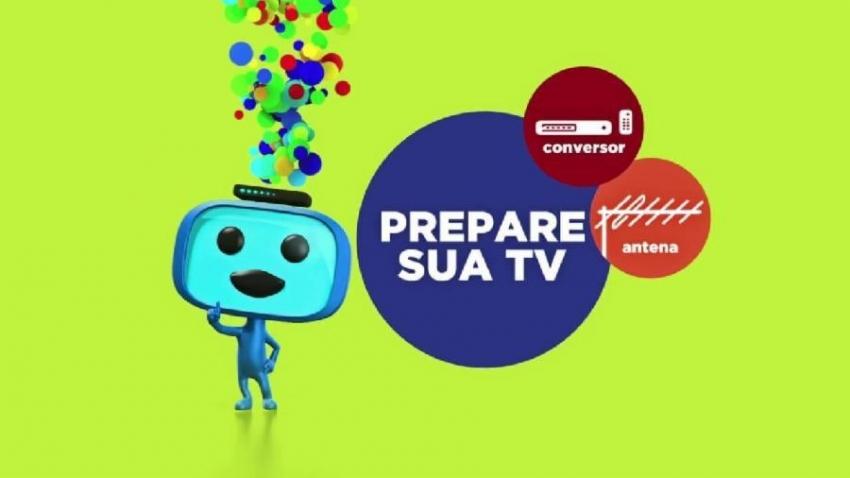Ajude sua TV a encontrar os canais digitais